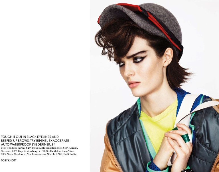 toby knott miss vogue2 Sam Rollinson Gets Mixed Up for Miss Vogue Feature by Toby Knott