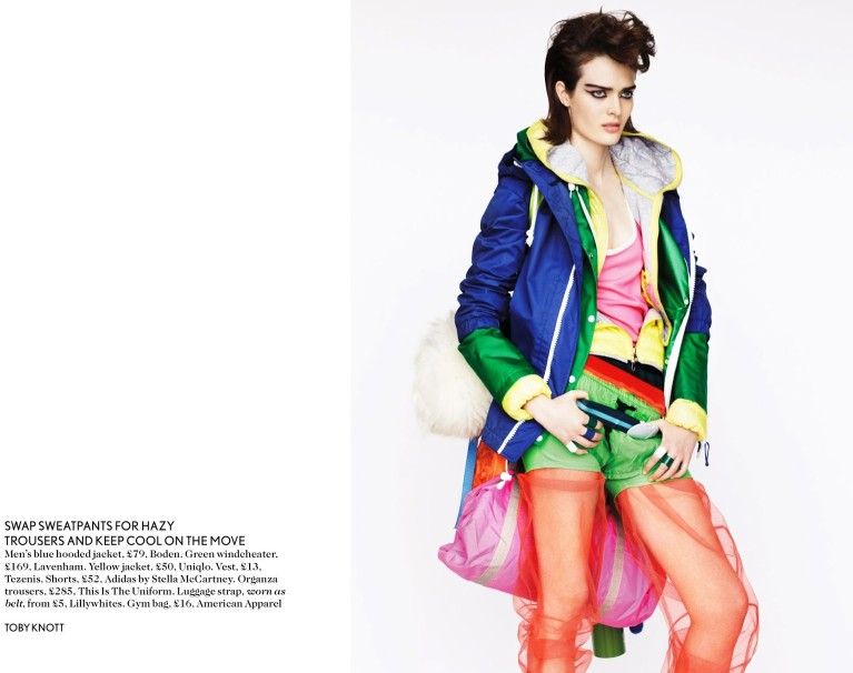 toby knott miss vogue4 Sam Rollinson Gets Mixed Up for Miss Vogue Feature by Toby Knott