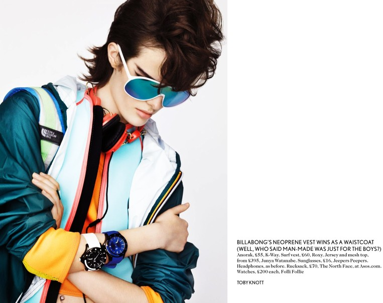 toby knott miss vogue5 Sam Rollinson Gets Mixed Up for Miss Vogue Feature by Toby Knott