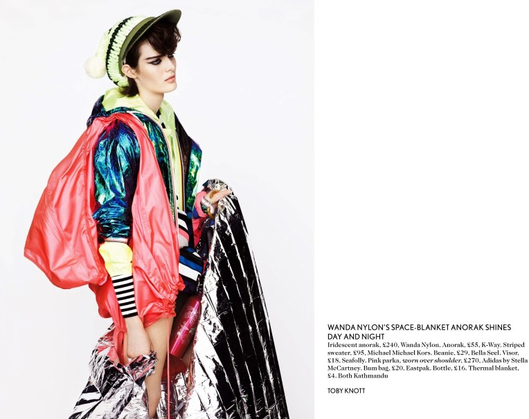 toby knott miss vogue7 Sam Rollinson Gets Mixed Up for Miss Vogue Feature by Toby Knott