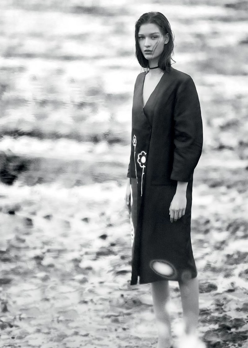 Elena Bartels is Minimal Chic for Under the Influence Magazine