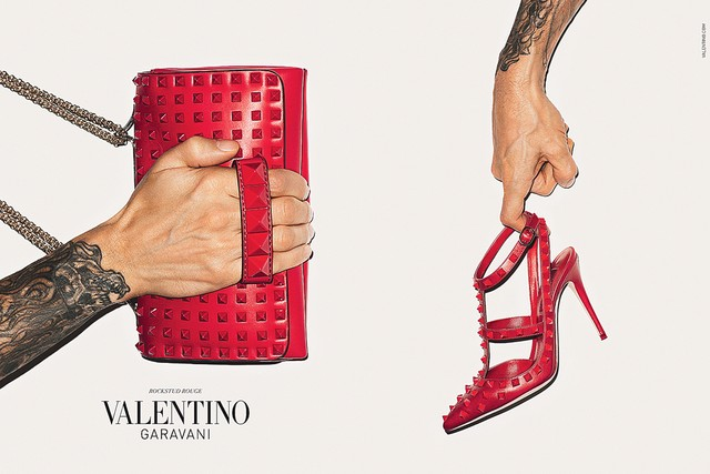 valentino terry richardson Terry Richardsons Arms Front Valentino Accessories Fall 2013 Campaign