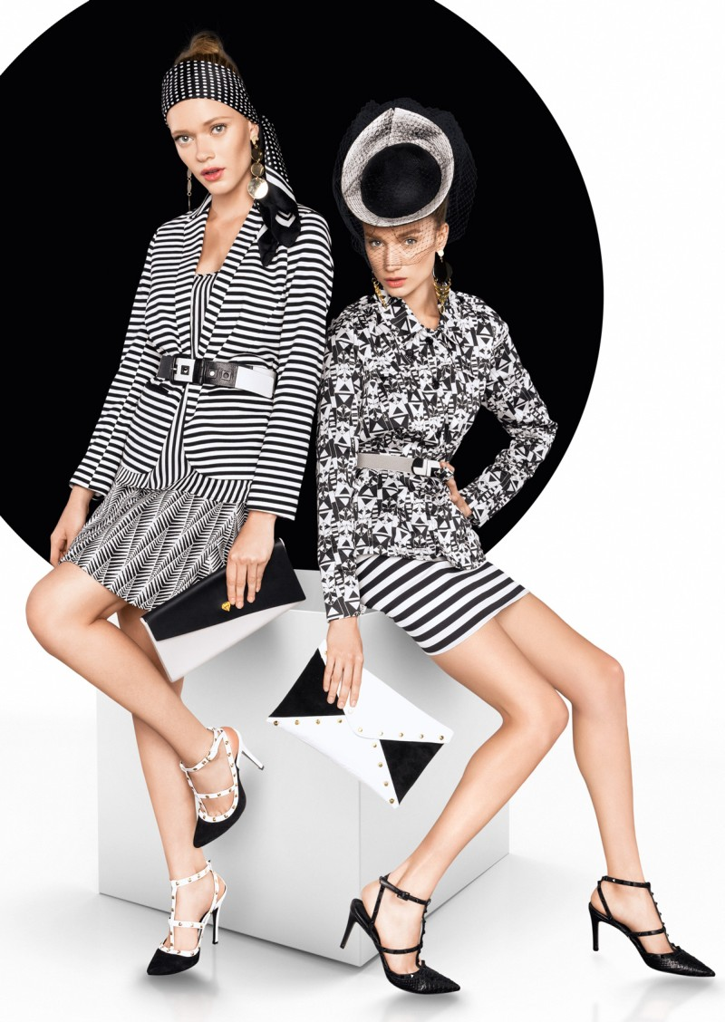 vogue brazil4 Tavinho Costa Shoots Black and White Fashions for Vogue Brazil May 2013