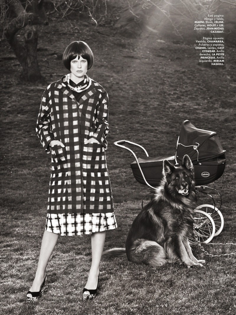 yossi michaeli10 Yossi Michaeli Captures Housewife Chic for Elle Mexico May 2013