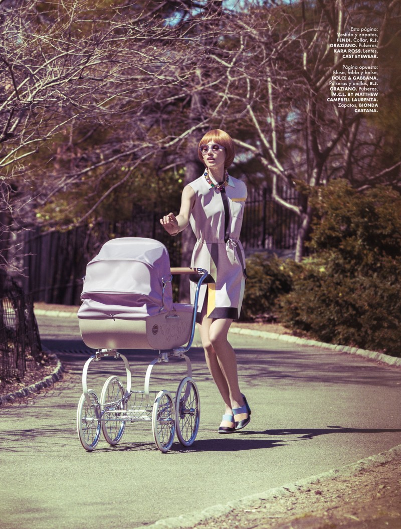 yossi michaeli9 Yossi Michaeli Captures Housewife Chic for Elle Mexico May 2013