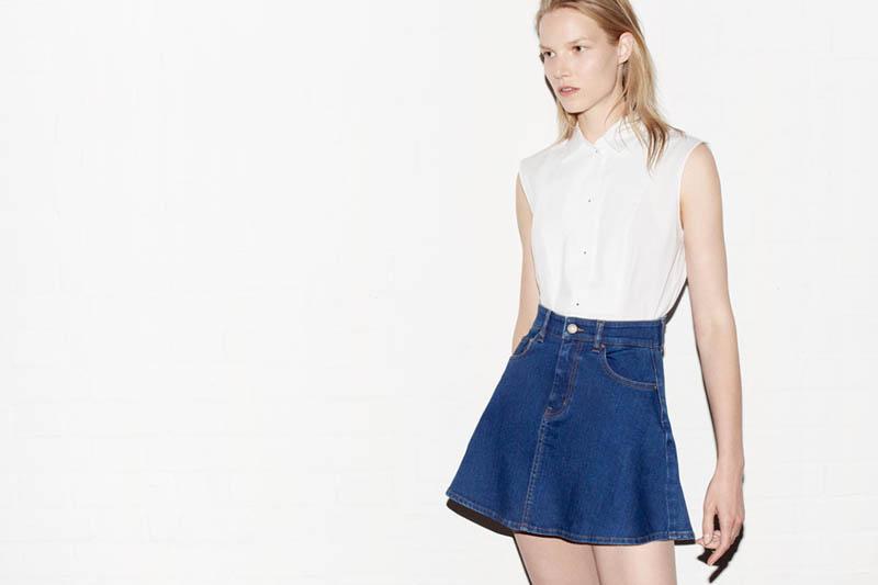 Suvi Koponen Models Zara May 2013 Lookbook