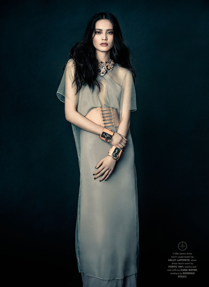 zhang jingna3 Li Wei by Zhang Jingna in Shades of Midnight for Fashion Gone Rogue