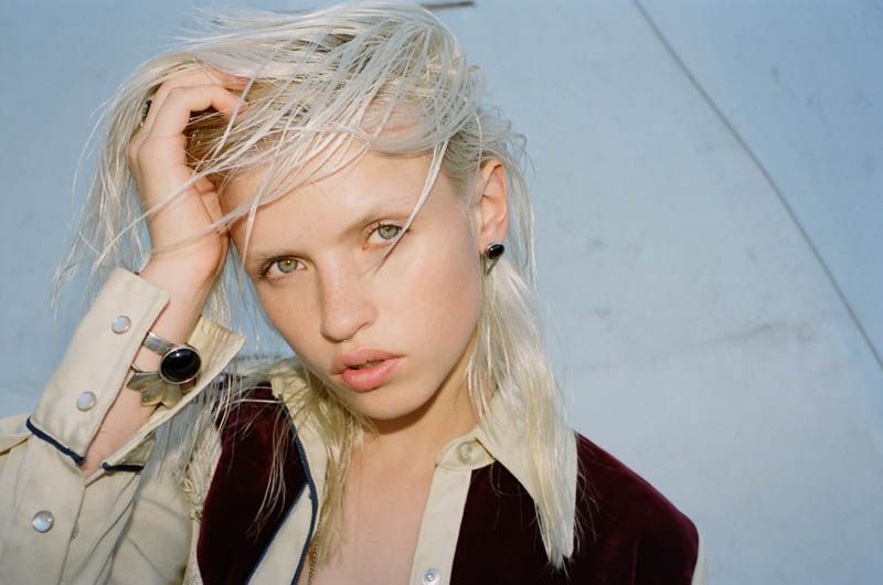 Anja Konstantinova for The 2 Bandits Holiday 2013 Collection by Jason Lee Parry