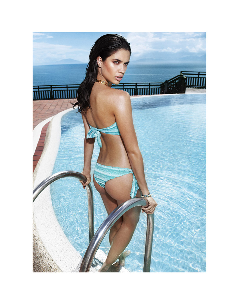 90608 Sara Sampaio Keeps Cool for LOfficiel Turkey June 2013 by Emre Dogru