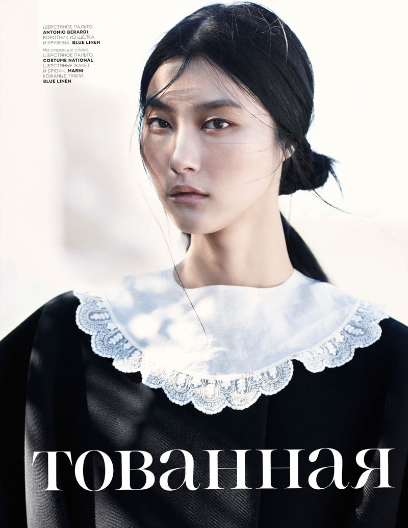 EmmaTempest 1 Ji Hye Park Enchants for Vogue Russia July 2013 by Emma Tempest