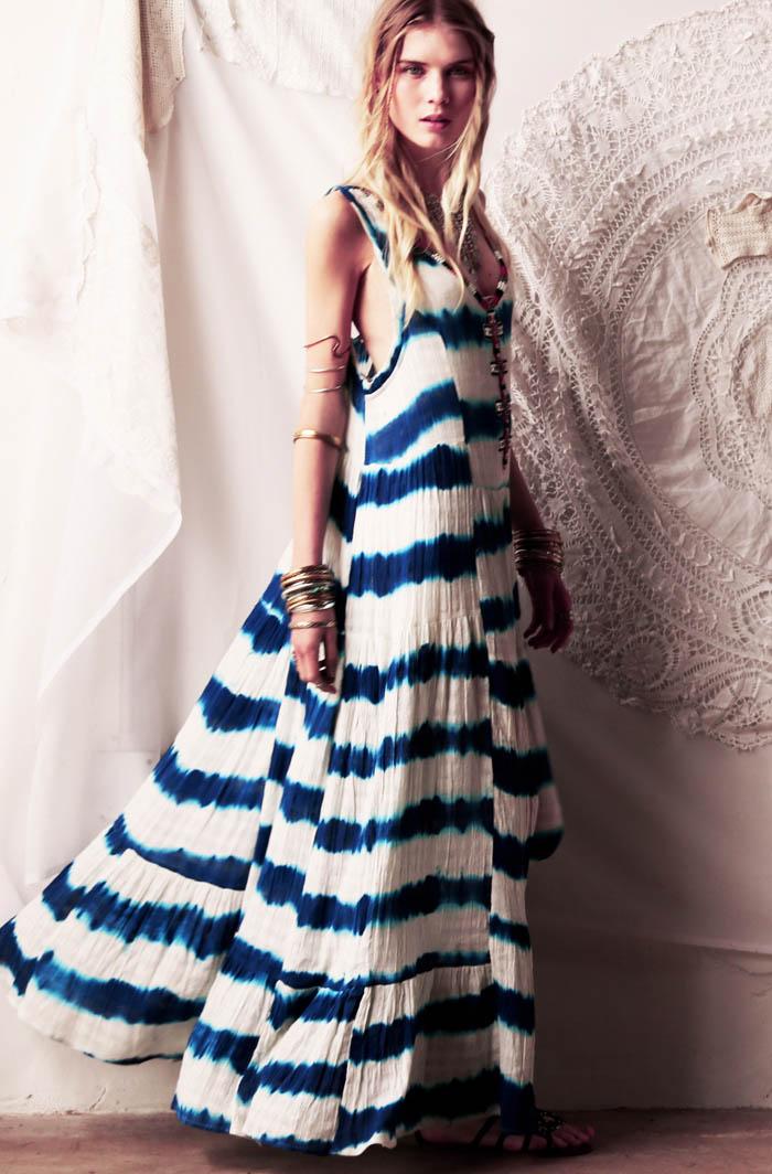 Elsa Sylvan Dons Americana Style for Free People Lookbook