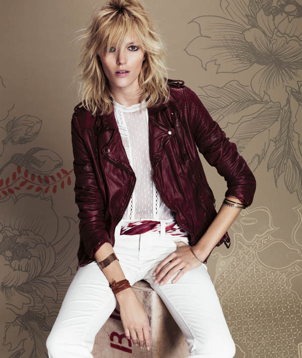 Free People July 2013  Anja Rubik 4 Anja Rubik Fronts Free People July Catalogue