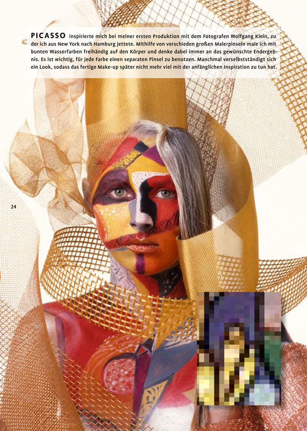 "Interview with Makeup Artist Yasmin Heinz on New Book ""Geschminkte Wahrheit"""