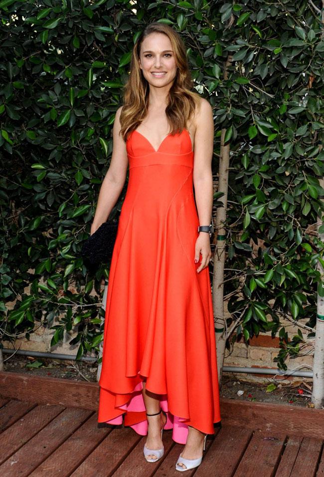 NATALIE PORTMAN1 Natalie Portman Wears Dior to LA Dance Project Inaugural Benefit Gala