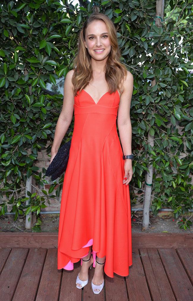 NATALIE PORTMAN2 Natalie Portman Wears Dior to LA Dance Project Inaugural Benefit Gala