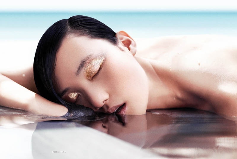 StocktonJohnson LinaZhang ELLE July2013 5 Lina Zhang is Sunkissed for Elle Vietnam July 2013 by Stockton Johnson