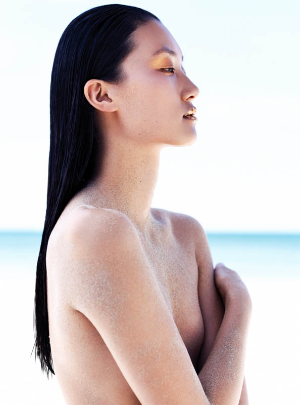 StocktonJohnson LinaZhang ELLE July2013 6 Lina Zhang is Sunkissed for Elle Vietnam July 2013 by Stockton Johnson