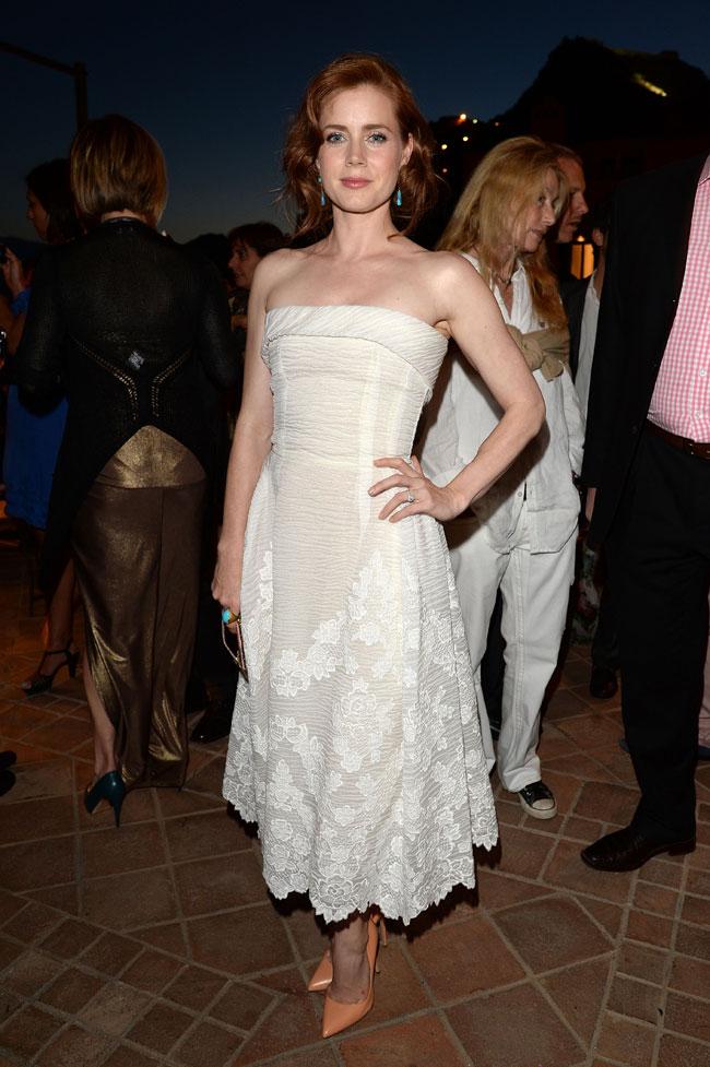 "Amy Adams Wears Dolce & Gabbana at the ""Man of Steel"" Taormina Premiere"