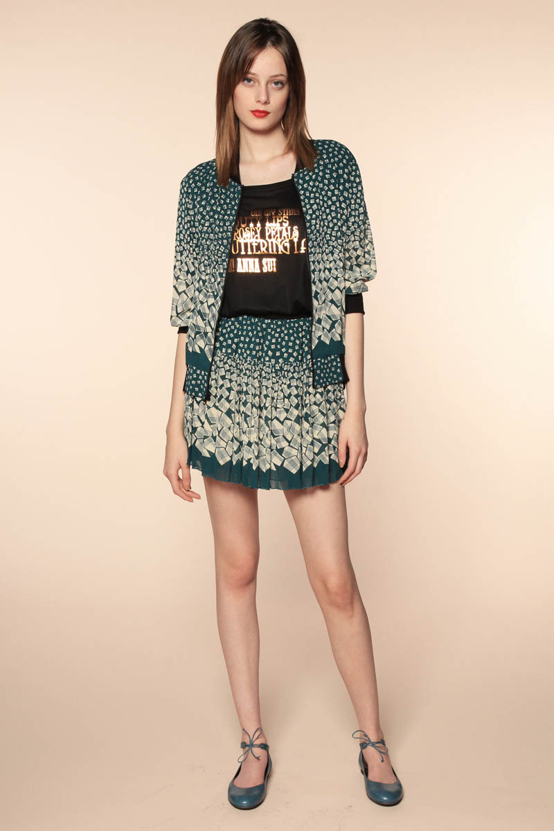 anna sui resort4 Anna Sui Resort 2014 Collection