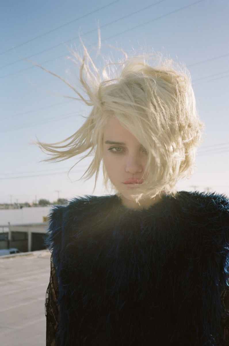 asos sky ferreira17 796x1200 ASOS Taps Sky Ferreira for July 2013 Cover Shoot by Jason Lee Parry