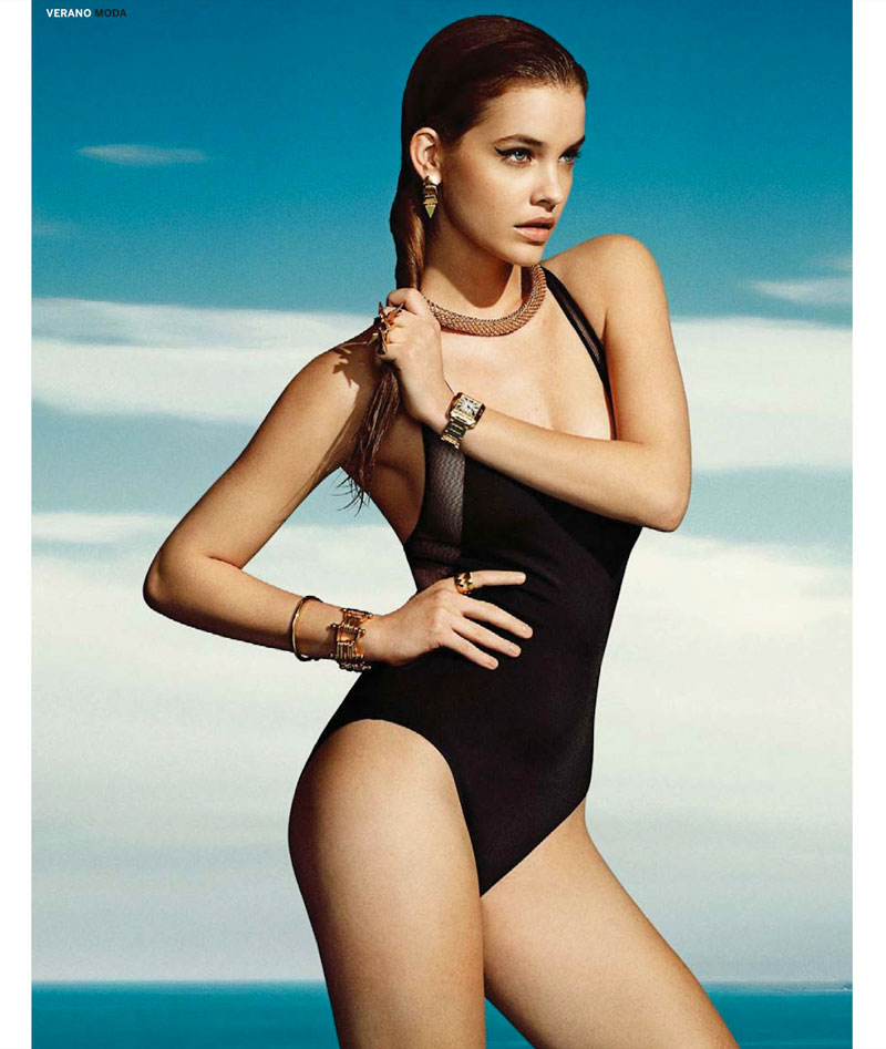 barbara summer5 Barbara Palvin Has a Hot Summer for El Pais Semanals June Issue