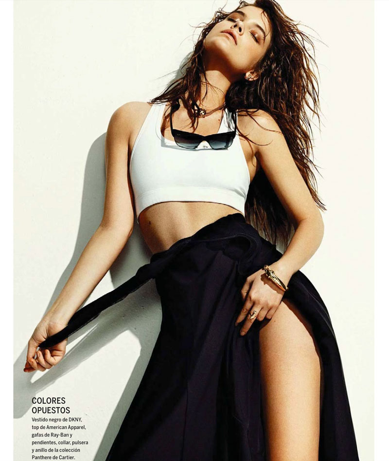 barbara summer6 Barbara Palvin Has a Hot Summer for El Pais Semanals June Issue