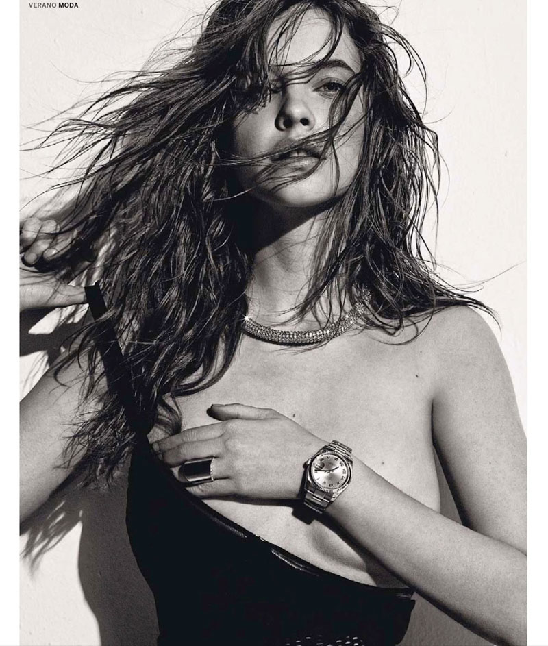 barbara summer8 Barbara Palvin Has a Hot Summer for El Pais Semanals June Issue