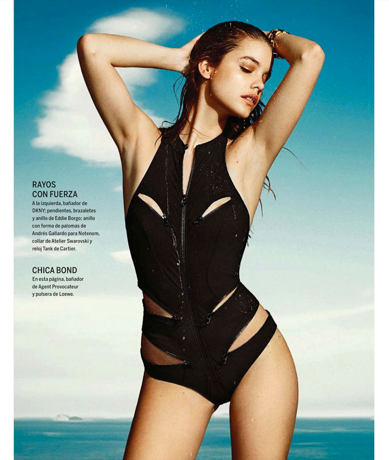 barbara summer9 Barbara Palvin Has a Hot Summer for El Pais Semanals June Issue