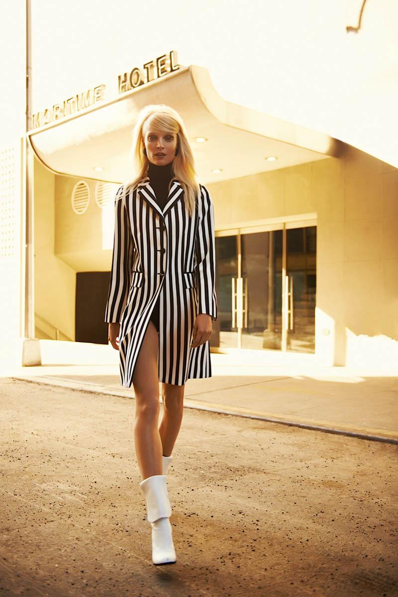 bazaar latin america5 Melissa Tammerijn Gets Retro for Alexander Neumann in Harpers Bazaar Latin America June 2013