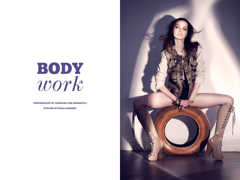 becca work Becca Breymas by Andreas von Gegerfelt in Body Work for Fashion Gone Rogue