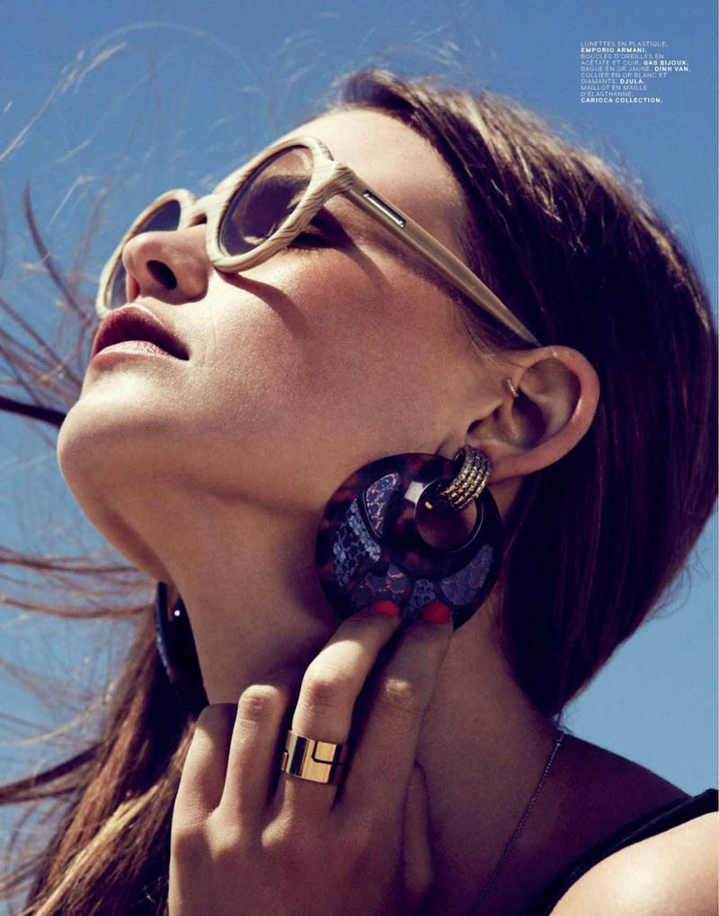 Behati Prinsloo Hits Venice Beach for Jalouse's June 2013 Issue