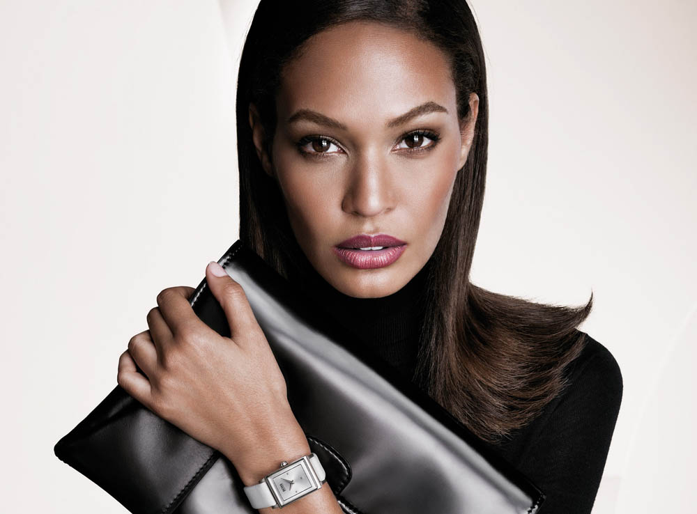 boss fall women2 Anja Rubik and Joan Smalls Front Hugo Boss Fall 2013 Campaign