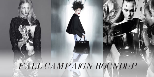 campaign teaser From Saint Laurent to Armani: A Roundup of the Fall Campaigns (So Far)