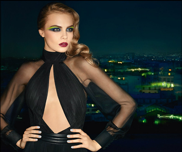 cara ysl beaute autumn Cara Delevingne Stars in YSL Fall 2013 Beauty Campaign