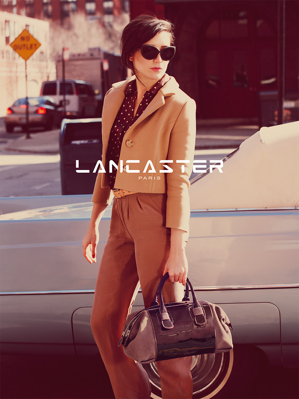 daisy lowe lancaster2 Daisy Lowe Tapped for Lancaster Fall 2013 Campaign