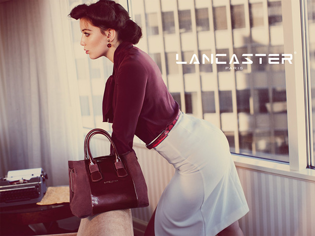 daisy lowe lancaster4 Daisy Lowe Tapped for Lancaster Fall 2013 Campaign
