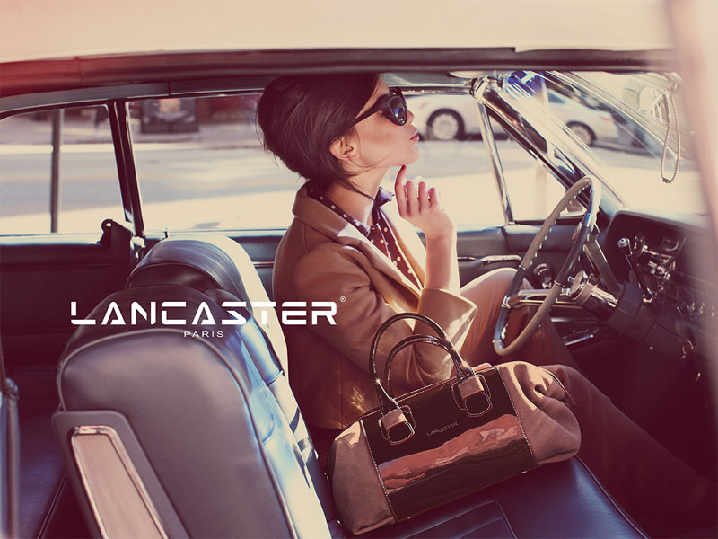 daisy lowe lancaster5 Daisy Lowe Tapped for Lancaster Fall 2013 Campaign