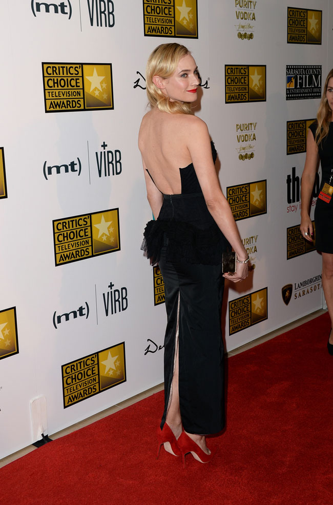 diane kruger nina ricci2 Diane Kruger Wears Nina Ricci to the 3rd Annual Critics Choice Television Awards
