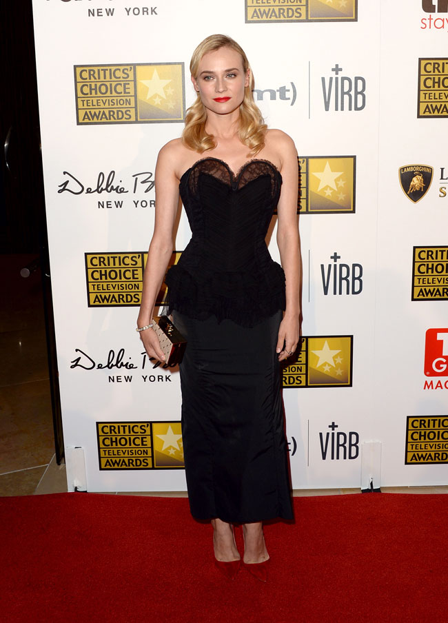 Diane Kruger Wears Nina Ricci to the 3rd Annual Critics' Choice Television Awards
