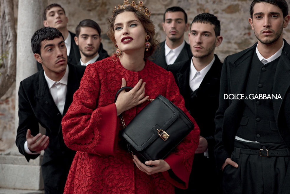 dolce gabbana fall ads3 Dolce & Gabbana Serves Up Drama for Fall 2013 Campaign with Bianca, Monica, Andreea and Kate