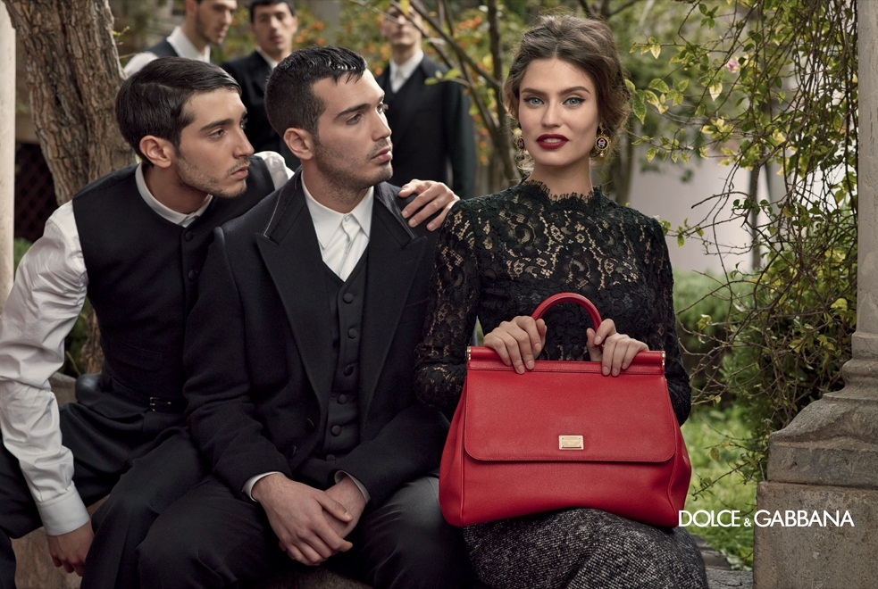 dolce gabbana fall ads4 Dolce & Gabbana Serves Up Drama for Fall 2013 Campaign with Bianca, Monica, Andreea and Kate