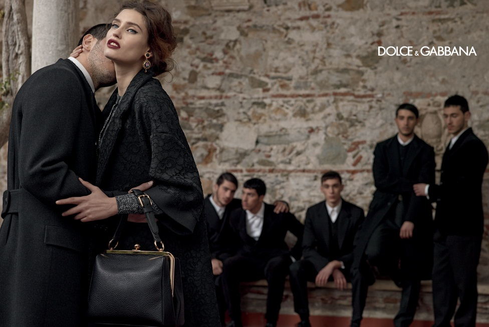 dolce gabbana fall ads6 Dolce & Gabbana Serves Up Drama for Fall 2013 Campaign with Bianca, Monica, Andreea and Kate