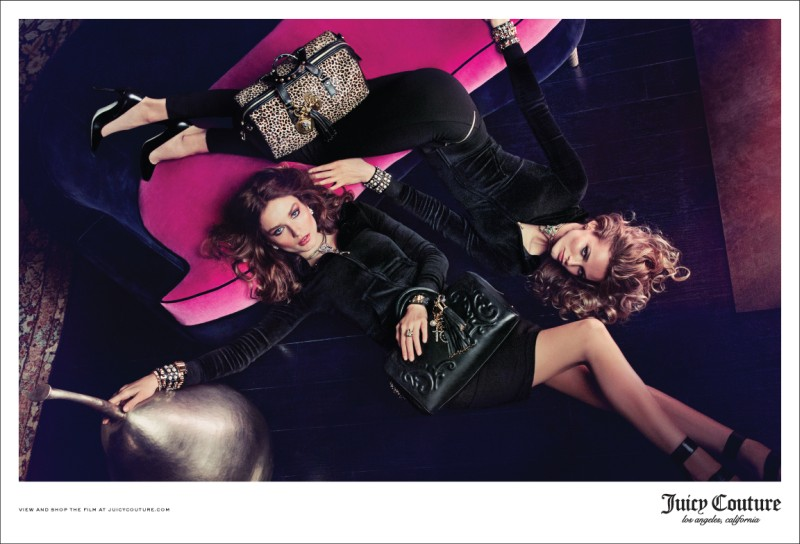 See Juicy Couture's Complete Fall 2013 Campaign with Edita and Andreea