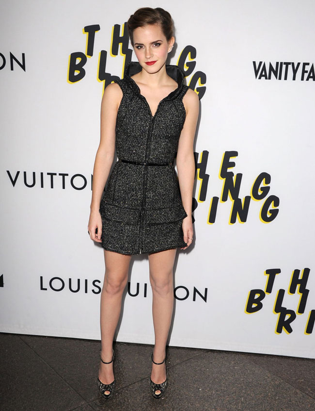 emma watson chanel1 Emma Watson Dons Chanel at The Bling Ring Los Angeles Premiere