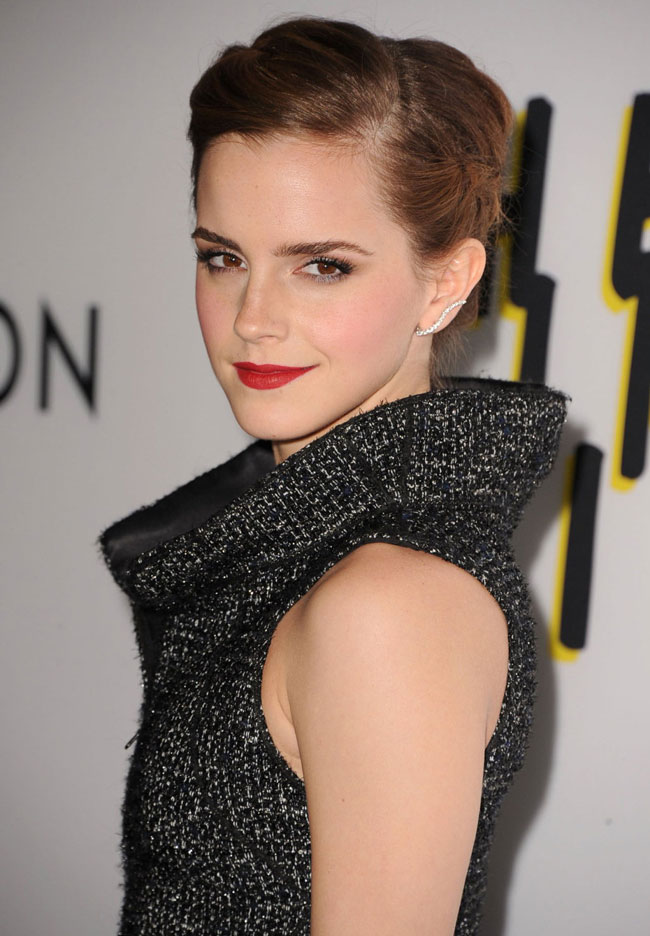 emma watson chanel2 Emma Watson Dons Chanel at The Bling Ring Los Angeles Premiere