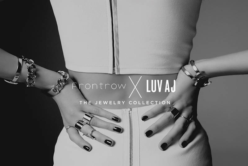 front row luv aj lookbook 850px 1 Front Row and Luv Aj Collaborate on New Jewelry Collection