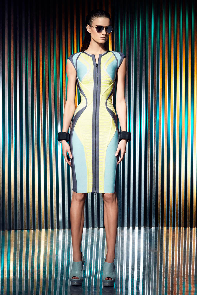herve leger resort1 Hervé Léger by Max Azria Resort 2014 Collection