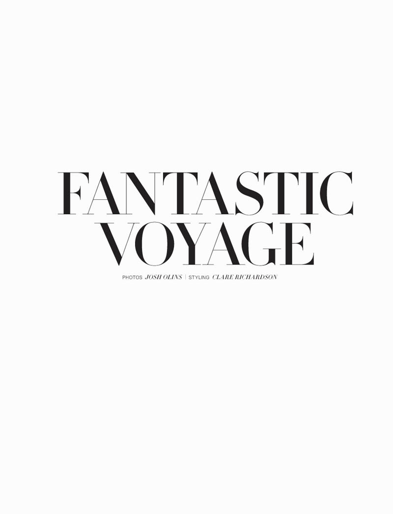 Catherine McNeil Takes a 'Fantastic Voyage' for H&M Magazine Summer 2013