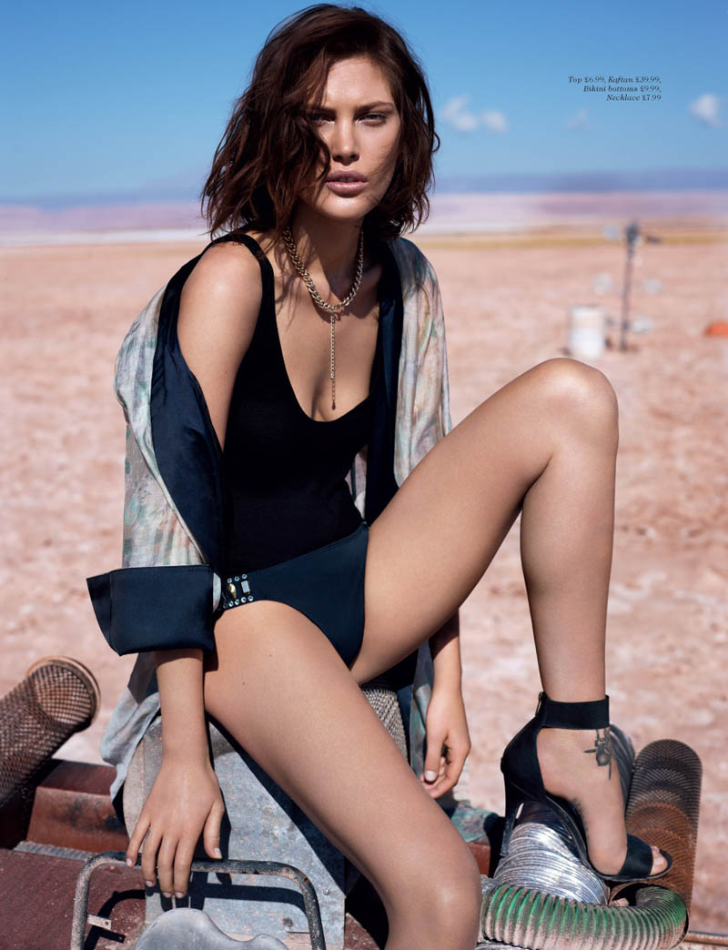 hm fantastic voyage2 Catherine McNeil Takes a Fantastic Voyage for H&M Magazine Summer 2013