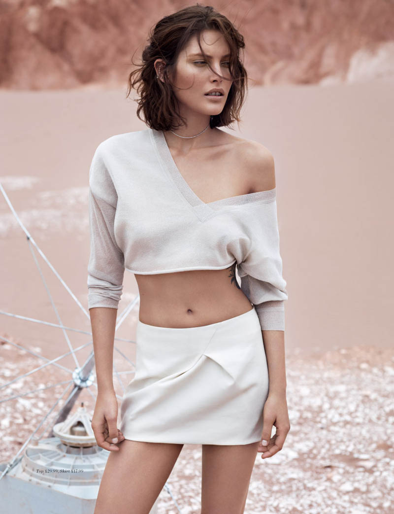 hm fantastic voyage6 Catherine McNeil Takes a Fantastic Voyage for H&M Magazine Summer 2013